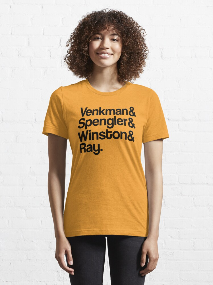 Vista alternativa de Camiseta esencial Venkman & Spengler & Winston & Ray