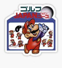 Mario Golf Sticker