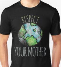 Respektiere deinen Muttertag - Best Degin Slim Fit T-Shirt