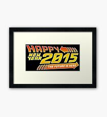 Back to the 2015 Framed Print