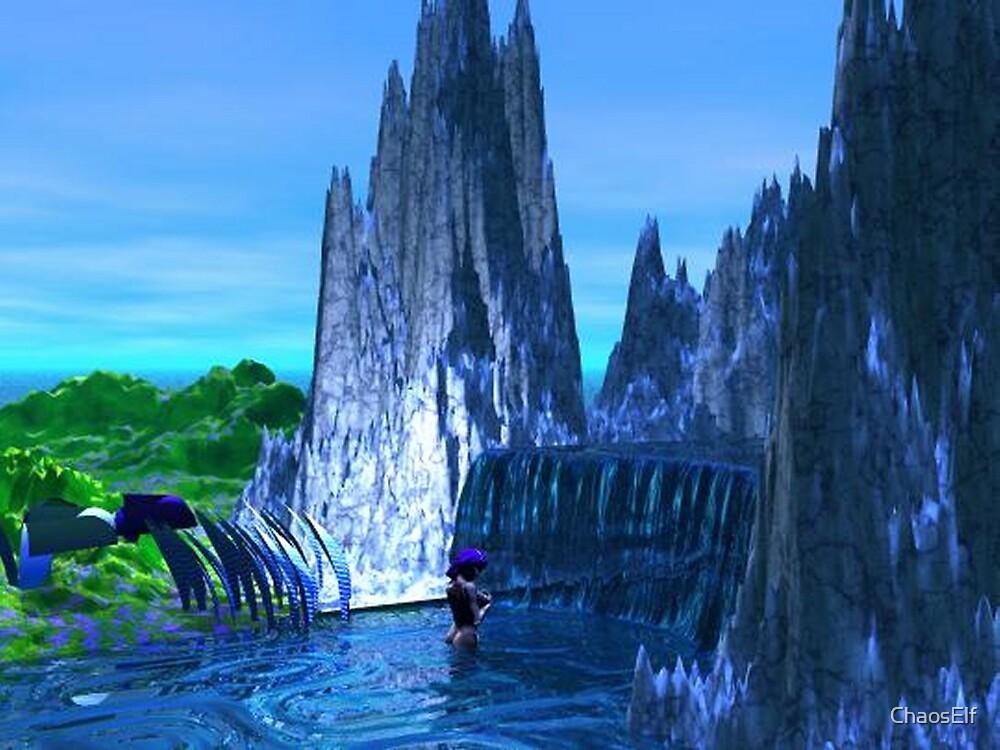 Waterfall by ChaosElf