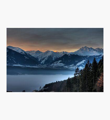 Alpenglow Photographic Print