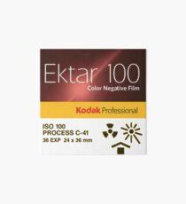Kodak Ektar 100 - 35mm Color Negative Film Art Board