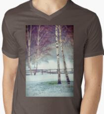 Two birches Men's V-Neck T-Shirt