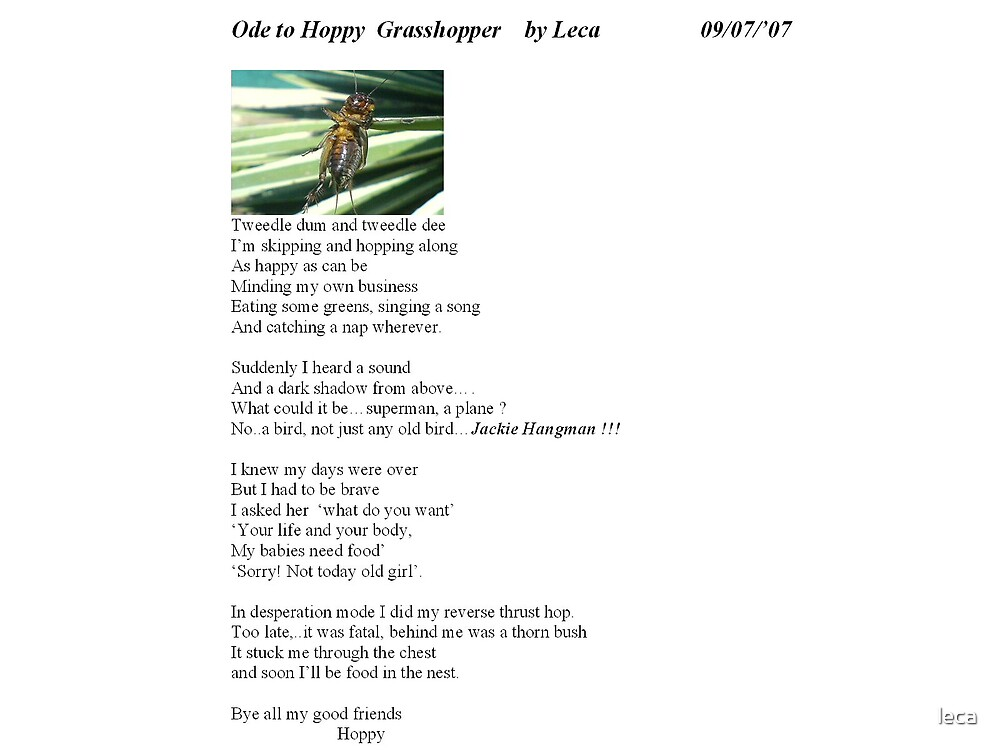 ODE to Hoppy by leca