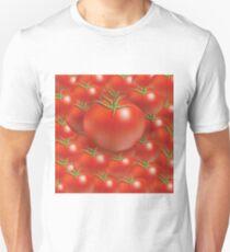 tomato background Unisex T-Shirt