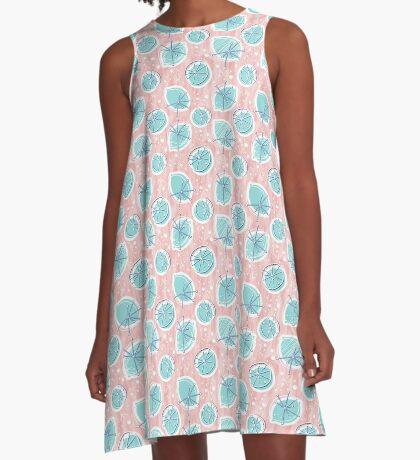 Atomic Lemonade_Rose Quartz A-Line Dress