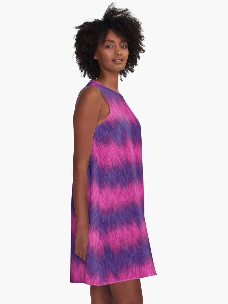 Alternate view of Cheshire Cat 01 A-Line Dress