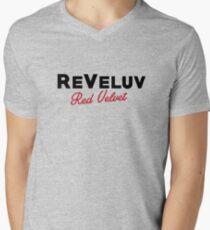 RED VELVET ReVeluv Men's V-Neck T-Shirt
