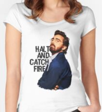 Joe MacMillan (Halt and Catch Fire) Women's Fitted Scoop T-Shirt