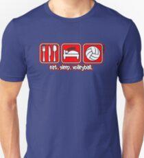 Eat. Sleep. Volleyball. Repeat. T-Shirt