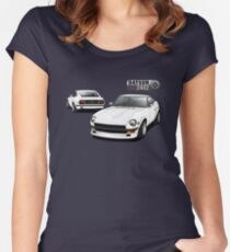 Datsun 240Z - White Women's Fitted Scoop T-Shirt