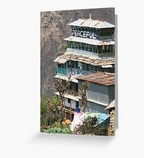 Himalayan Guesthouse Greeting Card