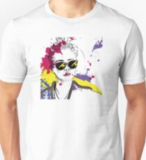 Stile Cartoon Woman Tshirt Unisex T-Shirt