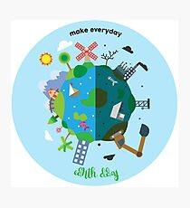 make everyday earth day Photographic Print