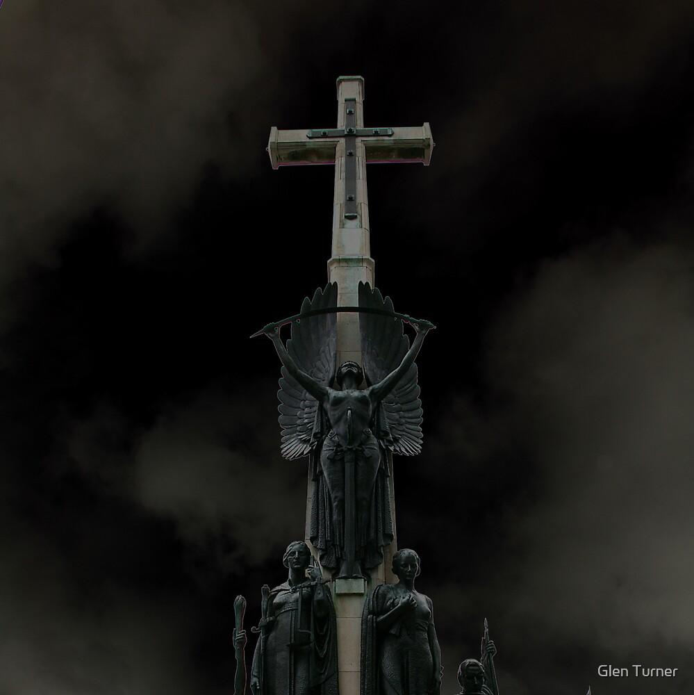 Statue Christchurch by Glen Turner