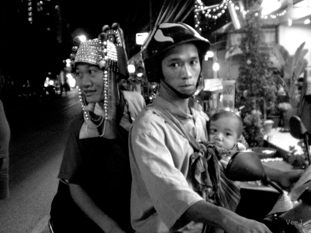 A Thai Family by Vee T