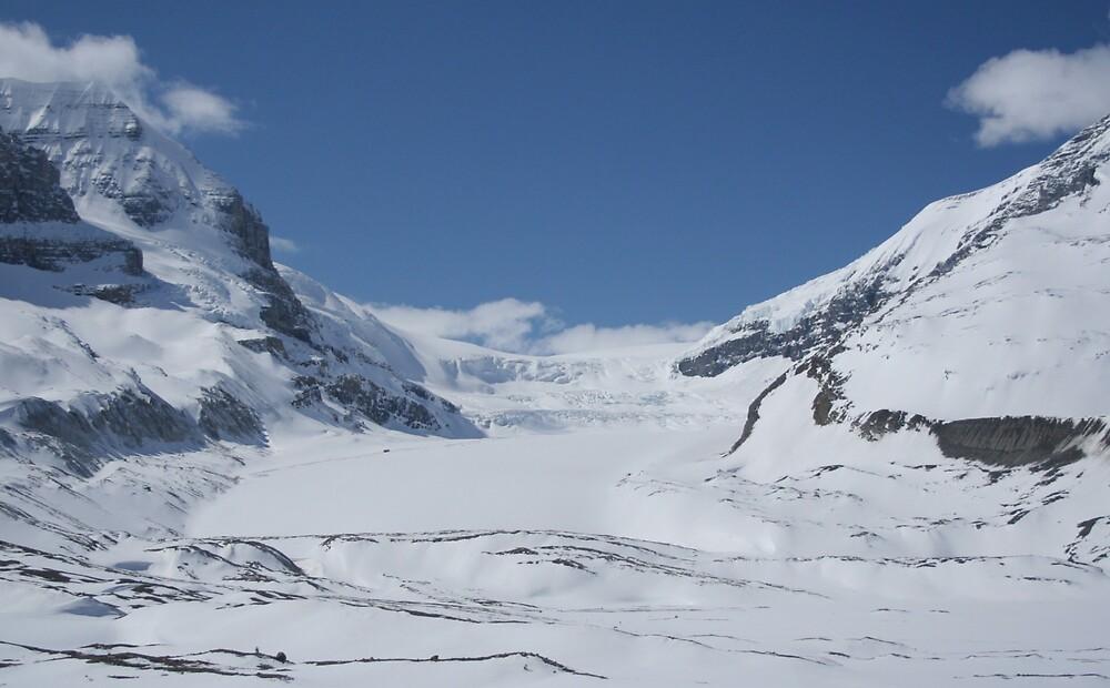 Athabasca Glacier by Amy Trebilco