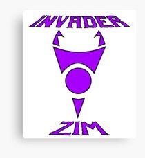 Invader Zim Canvas Print