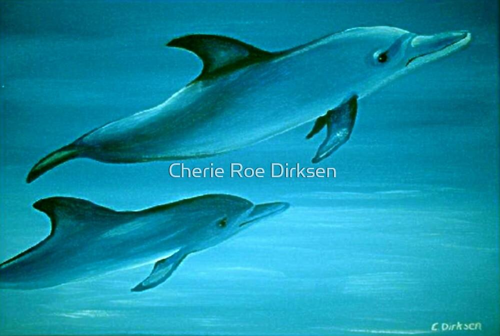 Dolphins by Cherie Roe Dirksen