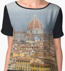 View of Florence from a hilltop Above Chiffon Top