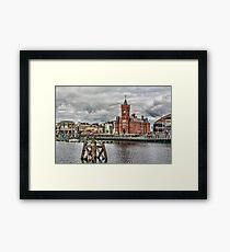Cardiff Bay Skyline Framed Print