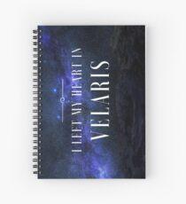 I Left my Heart in Velaris Spiral Notebook
