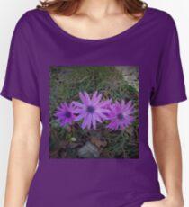 Tern of purple flowers Women's Relaxed Fit T-Shirt