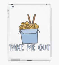 Take Me Out - Chinese Take Out Food iPad Case/Skin