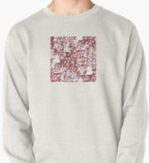 GEOMETRIC ABSTRACT IN SEPIA TONES Pullover