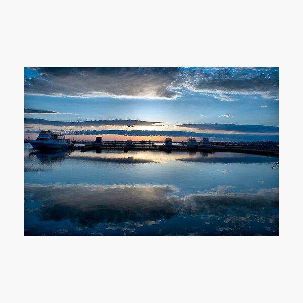 Dawn Harbour Photographic Print
