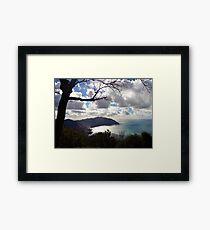 Golfo Paradiso Framed Print