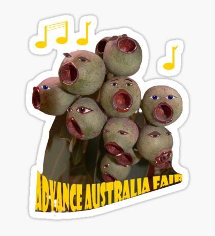 the Singing Nutsos Sticker