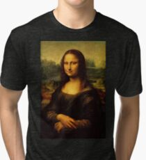Mona Lisa Tri-blend T-Shirt