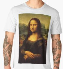 Mona Lisa Men's Premium T-Shirt
