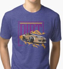 Dirt Car Racing Tee Tri-blend T-Shirt
