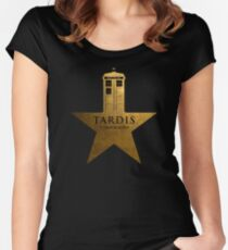 TARDIS - It's Bigger on the Inside Women's Fitted Scoop T-Shirt