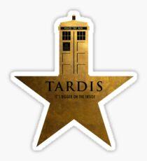 TARDIS - It's Bigger on the Inside Sticker
