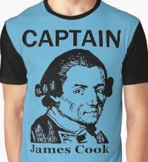 CAPTAIN JAMES COOK Graphic T-Shirt