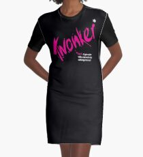 Date T Shirt - Twonker with white definition Graphic T-Shirt Dress