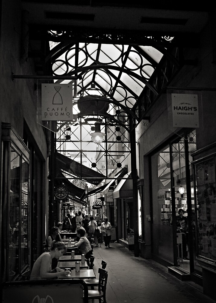 Block Arcade, Melbourne. by Frank  McDonald