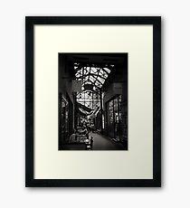 Block Arcade, Melbourne. Framed Print