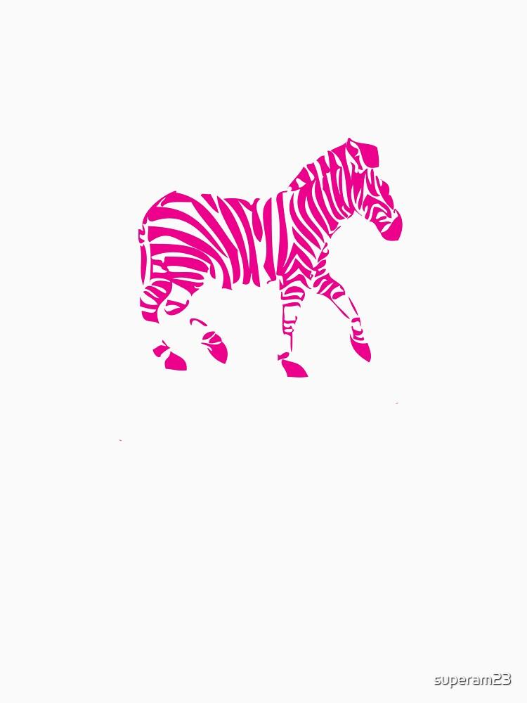 Pink Zebra by superam23