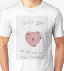 Puzzle Pieces of the Heart  Unisex T-Shirt