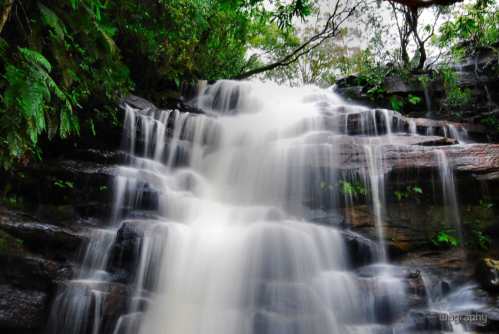 Waterfall from Somersby Falls 17 by wbgraphy