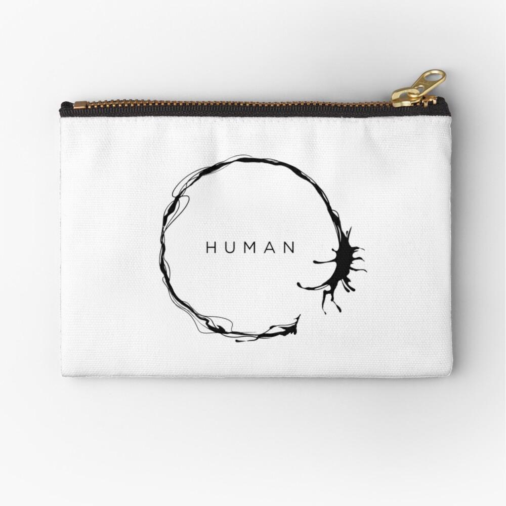 HUMAN Zipper Pouch