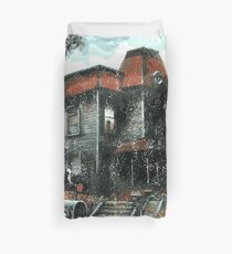 Bates Motel - Retro Duvet Cover