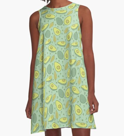 Avocados A-Line Dress