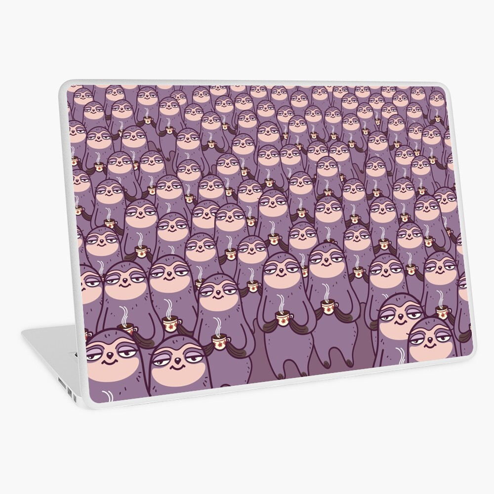 Sloth-tastic! Laptop Skin