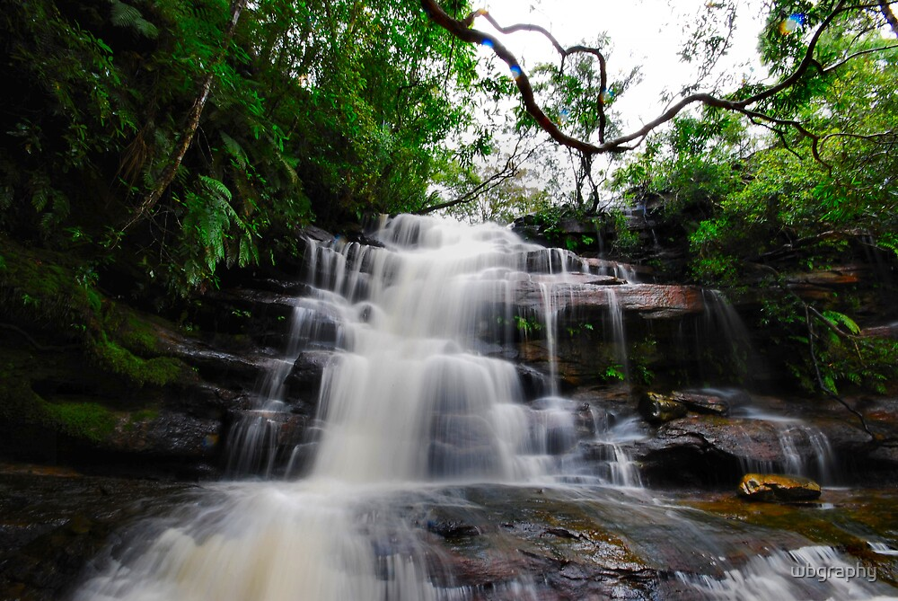 Waterfall from Somersby Falls 18 by wbgraphy